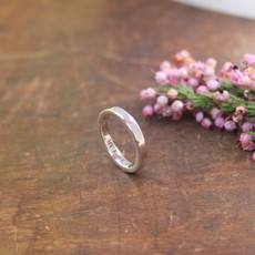 ESTELE  Platinum Ring 3mm