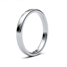ESTELE  Platinum Ring 2.5mm