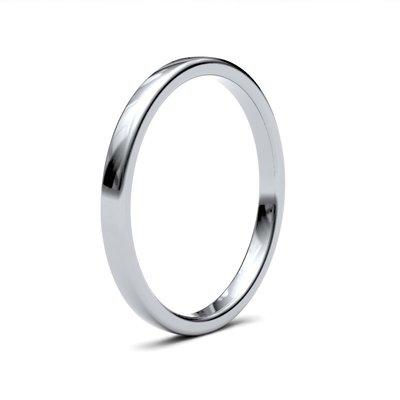 ESTELE Platinum Ring 2mm