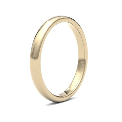 BONDD 18 Carat Gold Ring 2.5mm