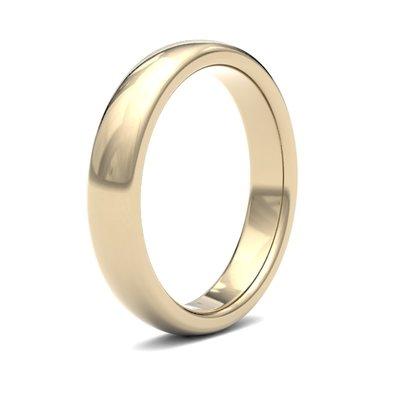 BONDD 18 Carat Gold Ring 4mm