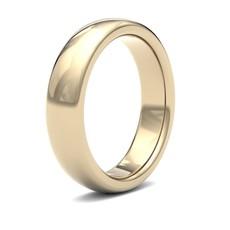 BONDD 18 Carat Gold Ring 5mm