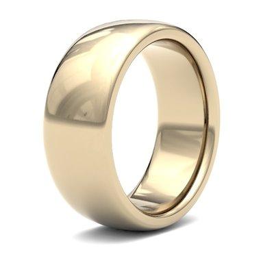 BONDD 18 Carat Gold Ring 8mm