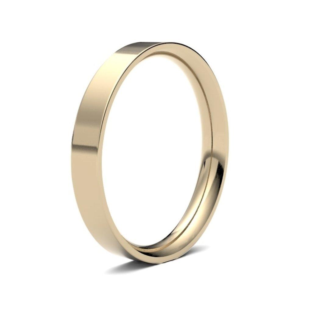 FORDE 18 Carat Gold Ring 3mm