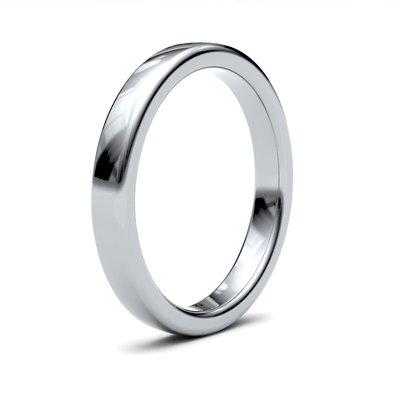 ERROS Platinum Ring 3mm