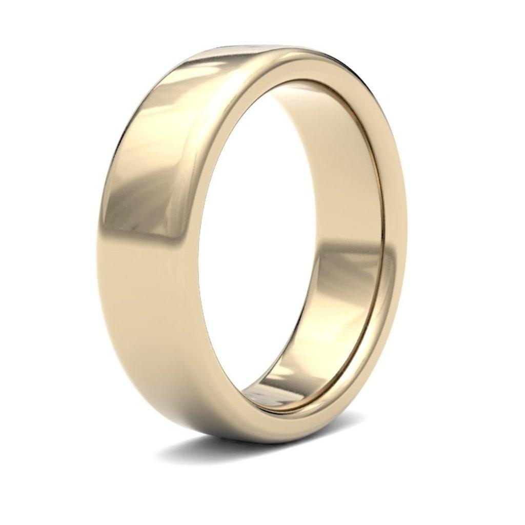 ERROS 18 Carat Gold Ring 7mm