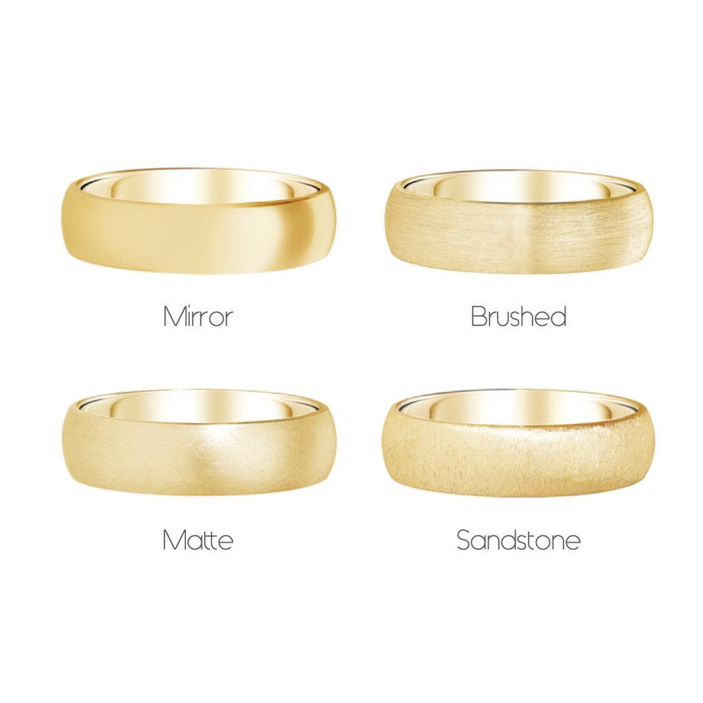 FORDE 18 Carat Gold Ring 4mm