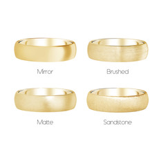 FORDE 18 Carat Gold Ring 5mm