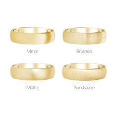 FORDE 18 Carat Gold Ring 6mm