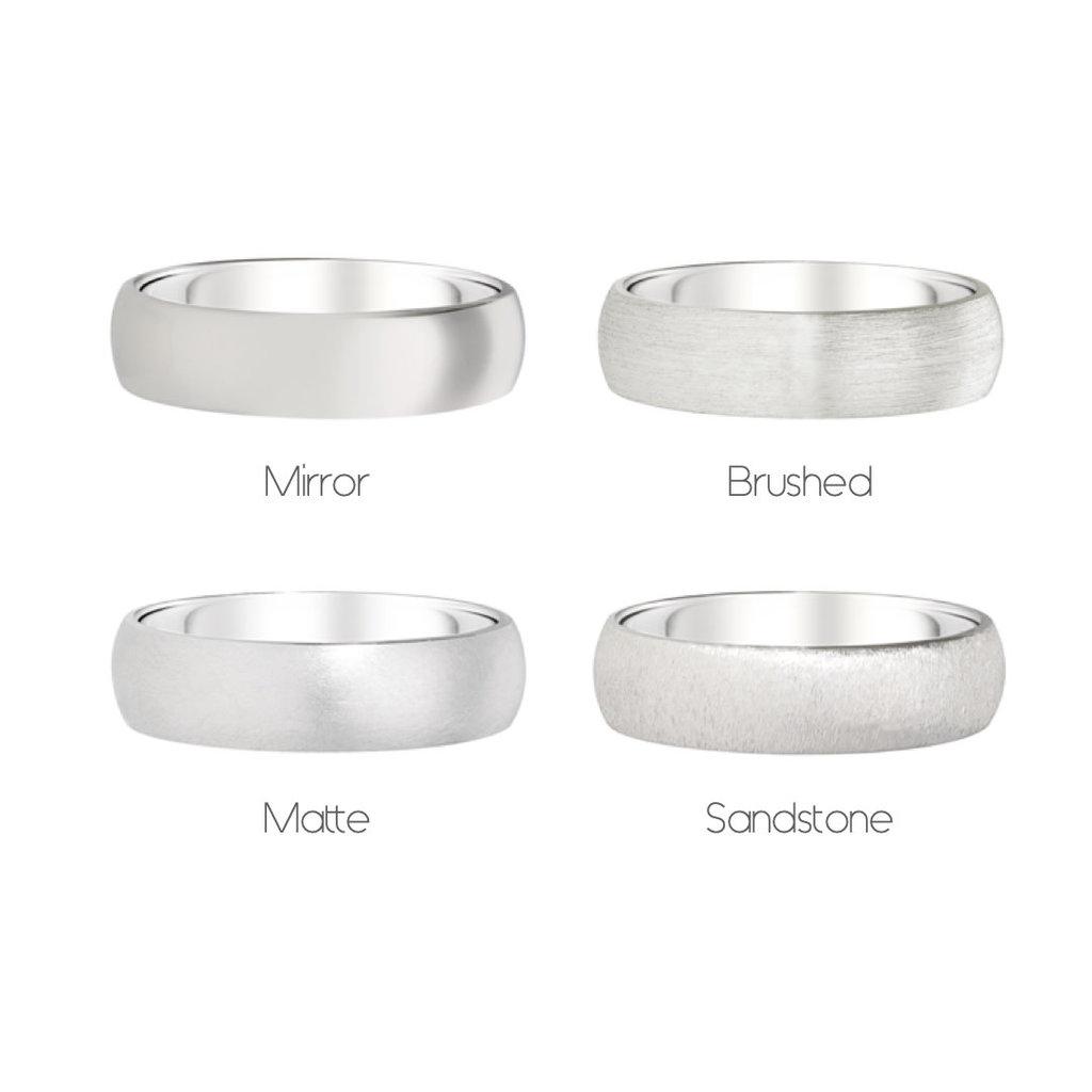 FORDE Platinum Ring 5mm