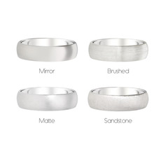 FORDE Platinum Ring 7mm