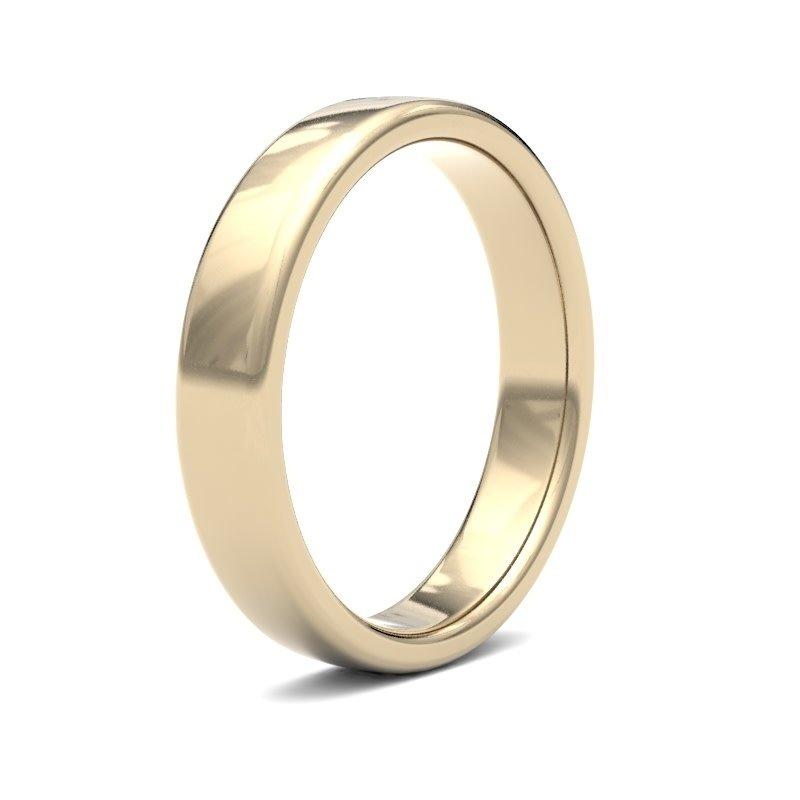 ESTELE 18 Carat Gold Ring 4mm