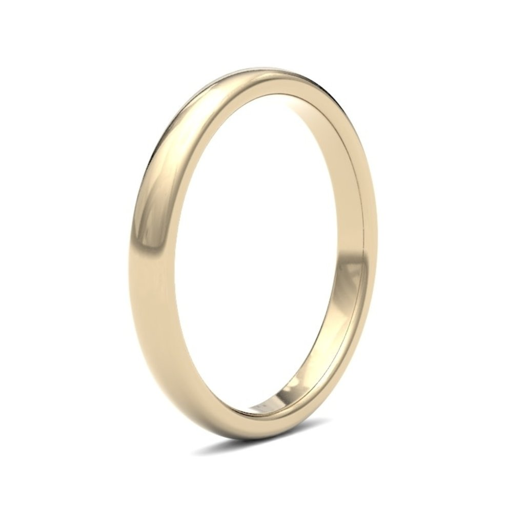 BOTANICA 18 Carat Gold Ring 2.5mm