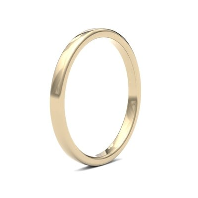 ESTELE 18 Carat Gold Ring 2mm