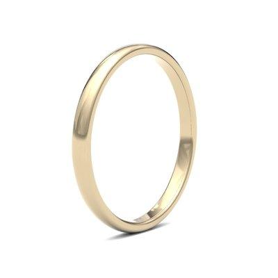 BOTANICA 18 Carat Gold Ring 2mm