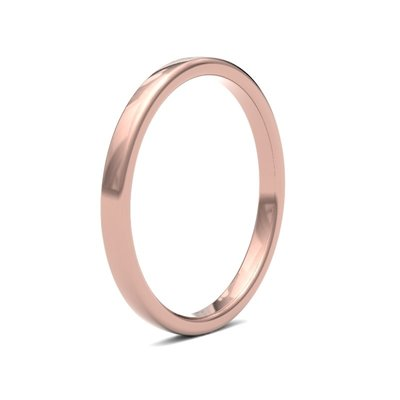 ESTELE Rose Gold Ring 2mm