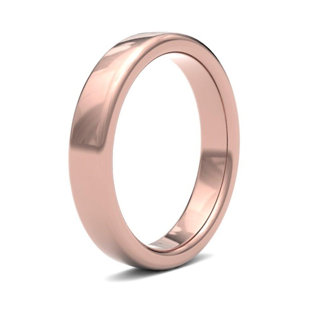 ESTELE Rose Gold Ring 4mm