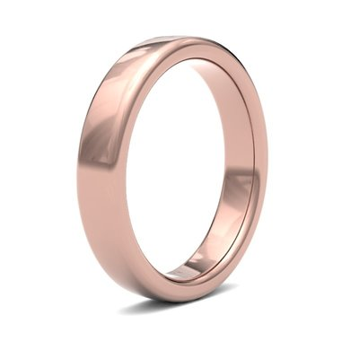 ESTELE Rose Gold Ring 4mm