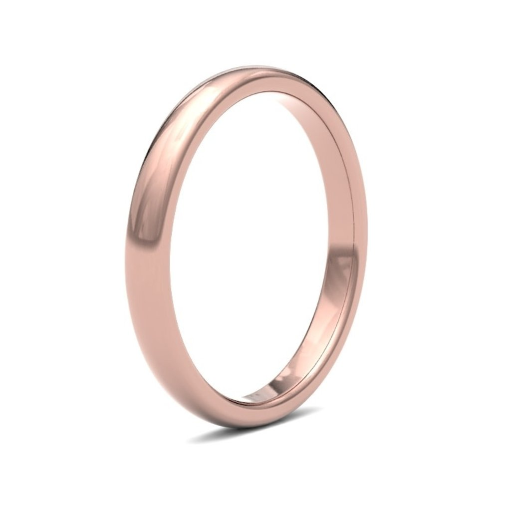 BOTANICA Rose Gold Ring 2.5mm