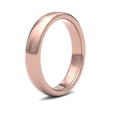 BOTANICA Rose Gold Ring 4mm