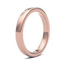 BOTANICA Rose Gold Ring 3mm