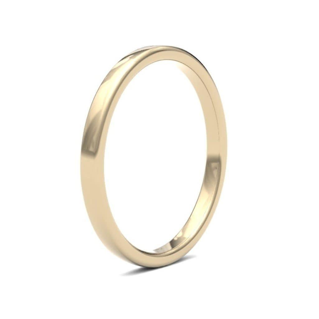 ESTELE 9 Carat Gold Ring 2mm