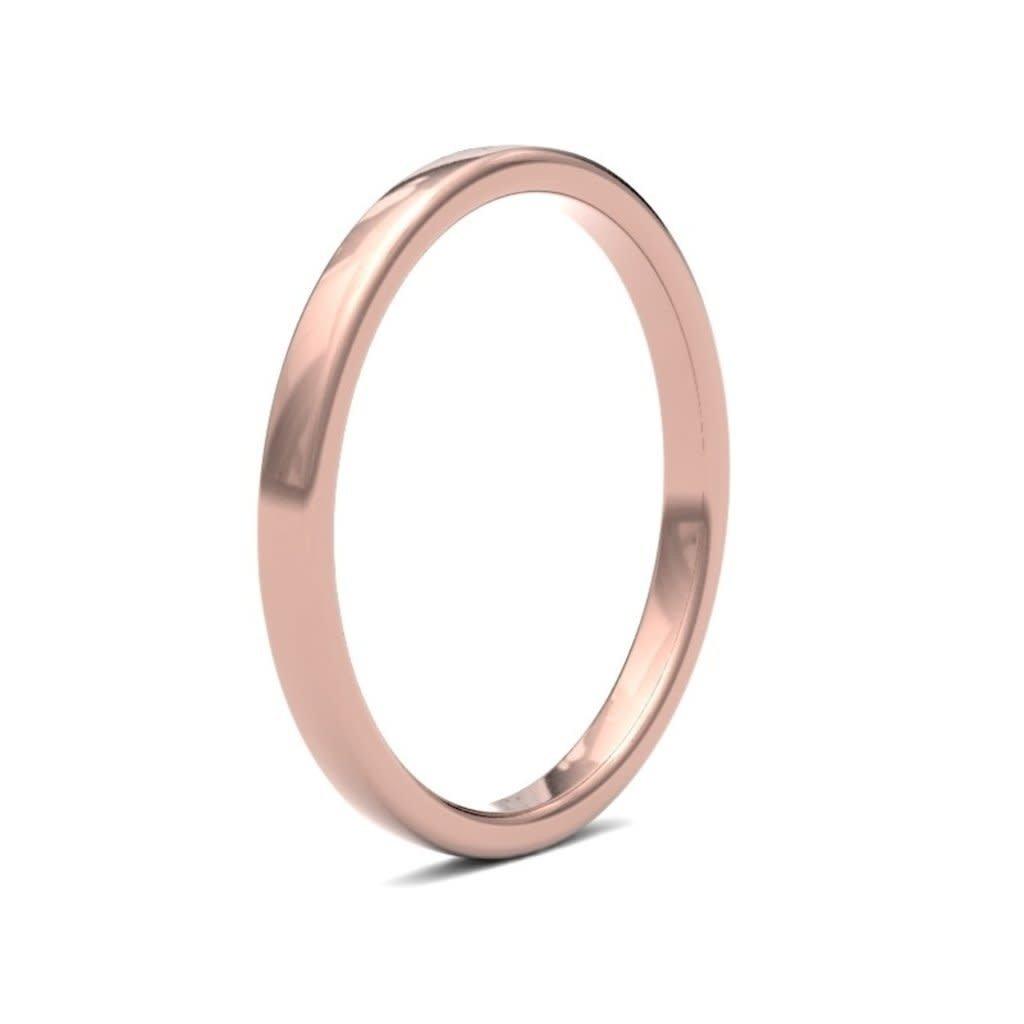 ESTELE 9 Carat Rose Gold Ring 2mm