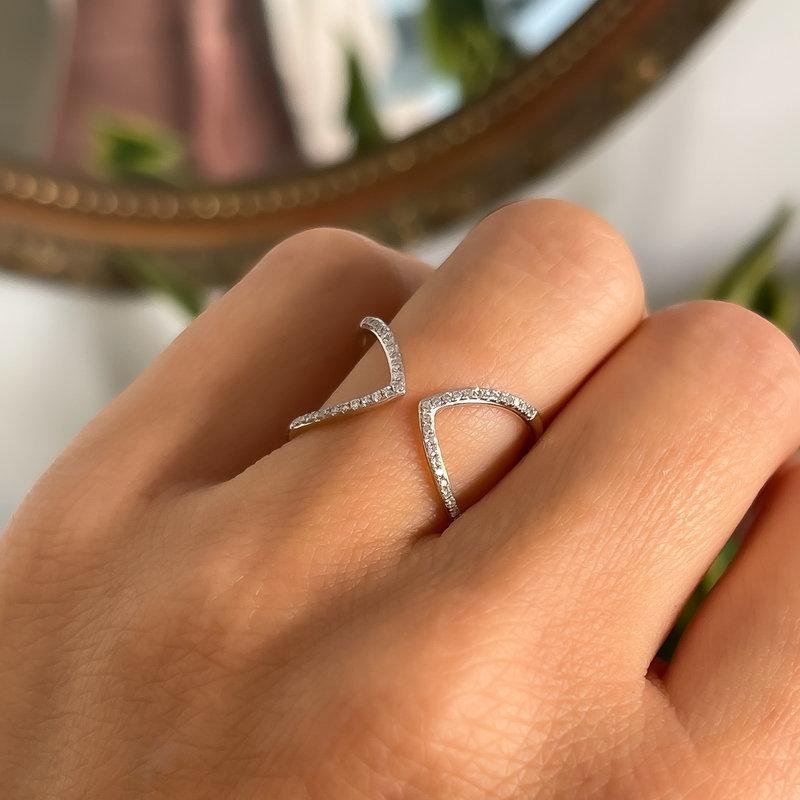 MONROE Gold Gracie Diamond Ring