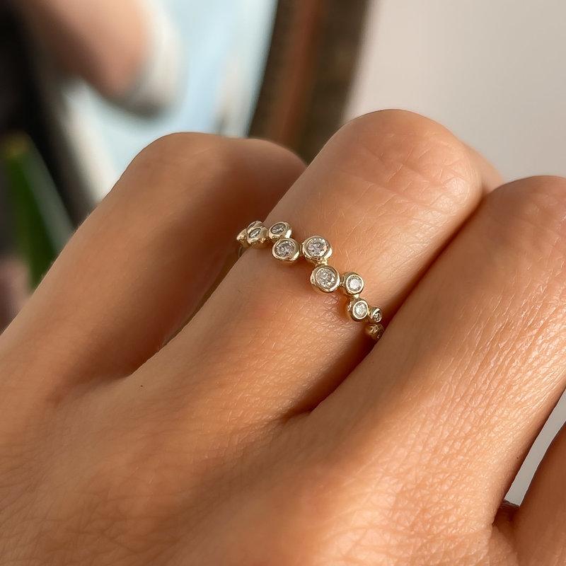 DAISY Gold Analia Diamond Ring