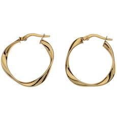 BOHO Gold Flo Hoop Earrings