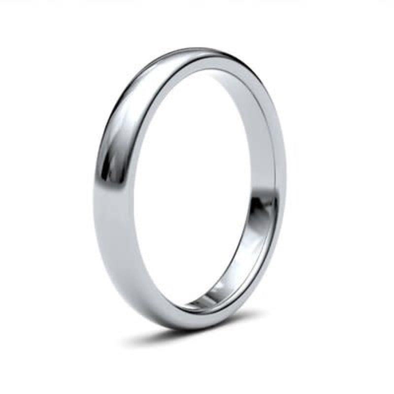 BONDD Silver Ring 3mm
