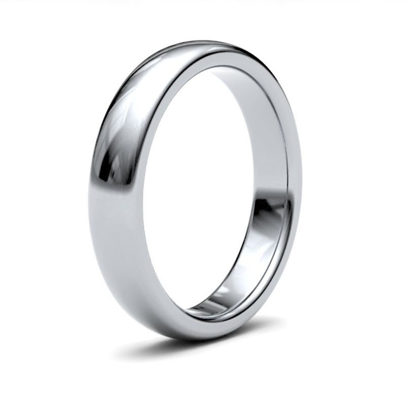 BONDD Silver Ring 4mm
