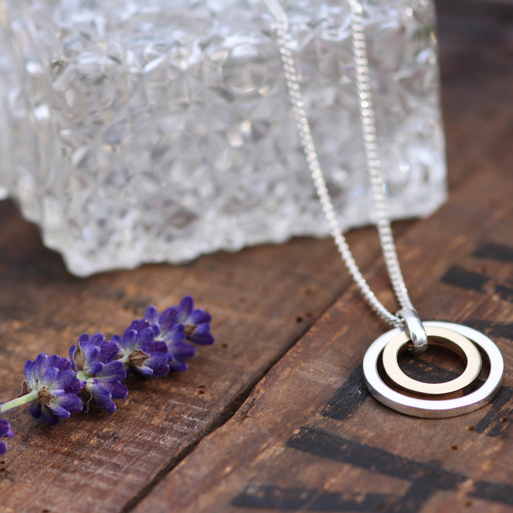 KENSINGTON Silver and Gold In2you Necklace