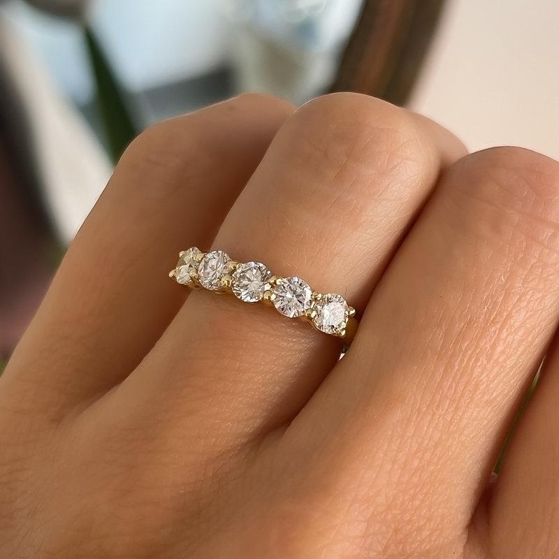 TATE Gold Felicity Diamond Ring