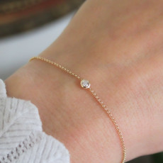 DAISY Gold North Star Diamond Bracelet
