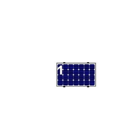 ClickFit EVO Staaldak 1 Paneel Landscape Optimizer Ready