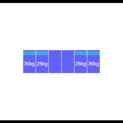 Solarstell Connect Montageset Zuid - 6 panelen 1081-1184MM