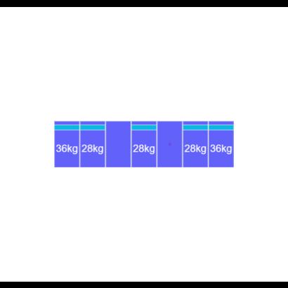 Solarstell Connect Montageset Zuid - 7 panelen 1081-1184MM