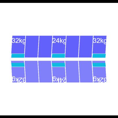 Solarstell Connect Montageset Oost/West Portrait 14 panelen 1081-1184MM
