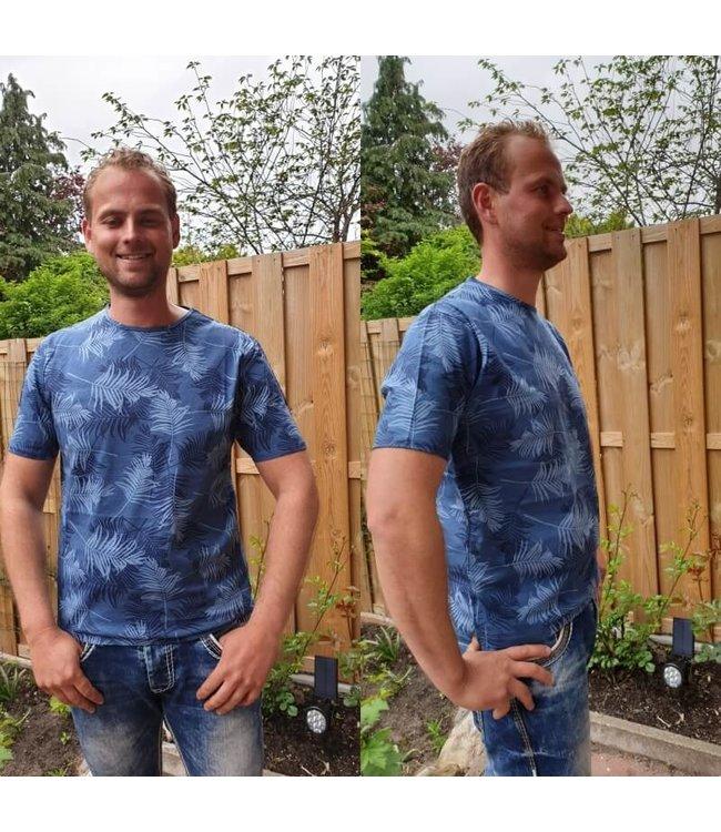 Smith & Jones T-shirt Ensign blue