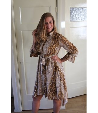 In Vogue Python dress