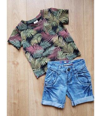Zero Jeans T-shirt Tropical
