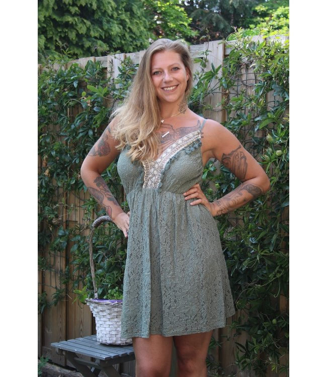 Elegance Dress Ibiza groen