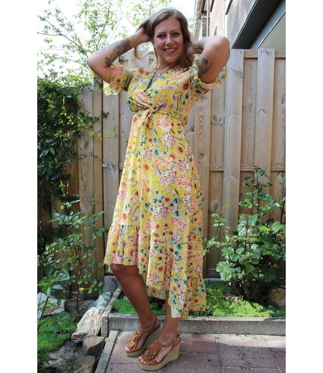 Capucine Lined Poppy Dress Vanda Geel