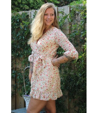Capucine Liberty Dress Nora beige