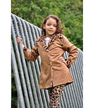 Zero Jeans Reversible Lammy coat camel