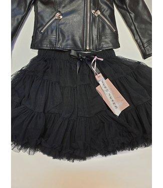Zero Jeans Petticoat zwart