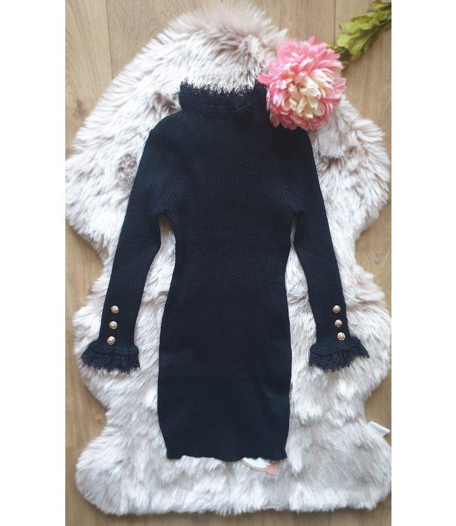 YoyoS Classy lady jurk zwart