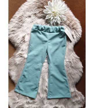 New Collection Flair broek Bonjour mint