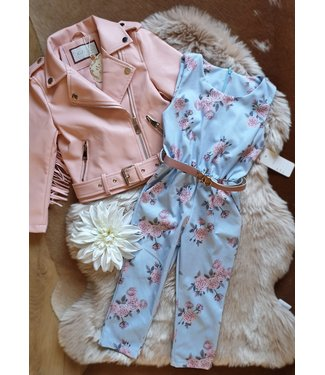 New Collection Jumpsuit Fleur aqua